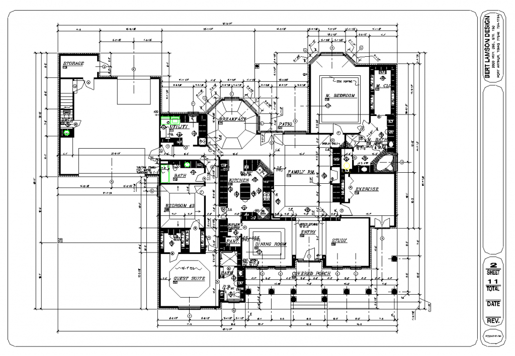 Bert Lamson Design Floor Plan